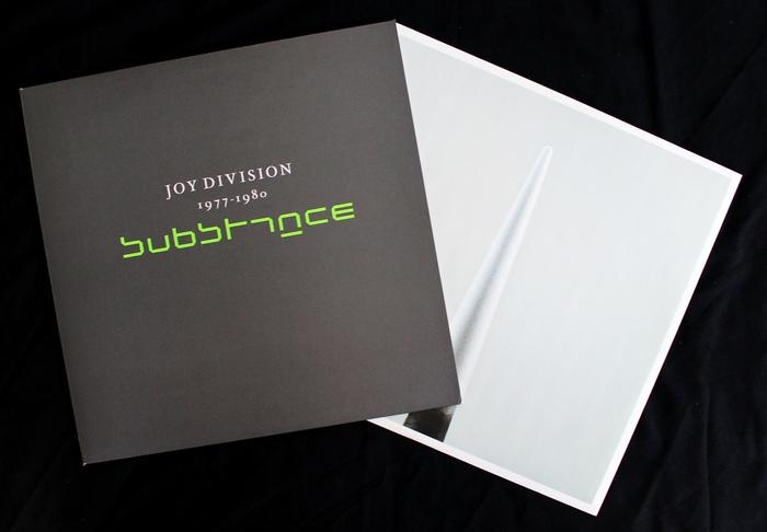 Joy Division – 1977–1980: Substance album art 2