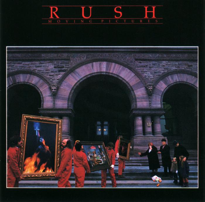 Rush – Moving Pictures album art