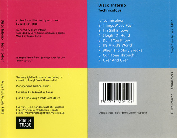 Technicolor & The 5 EPs by Disco Inferno 2