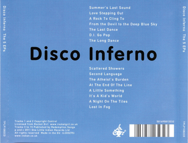 Technicolor & The 5 EPs by Disco Inferno 4
