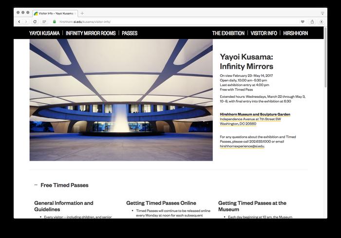 Hirshhorn Museum and Sculpture Garden website 5