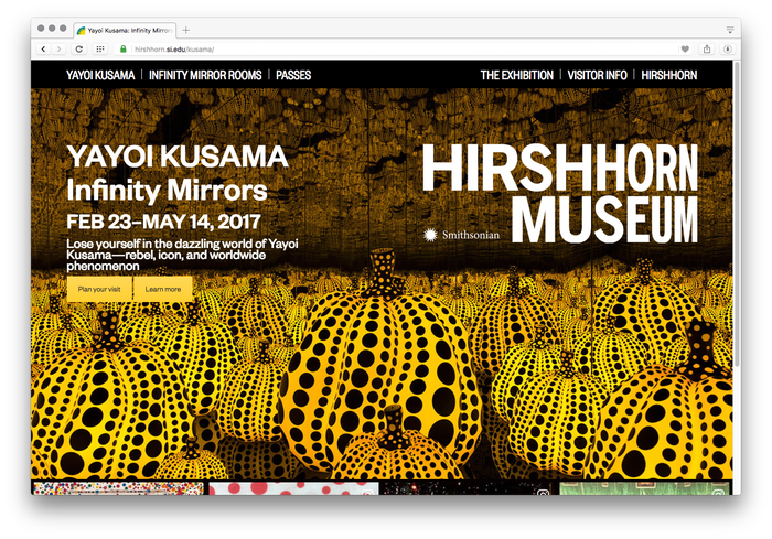 Hirshhorn Museum and Sculpture Garden website 4
