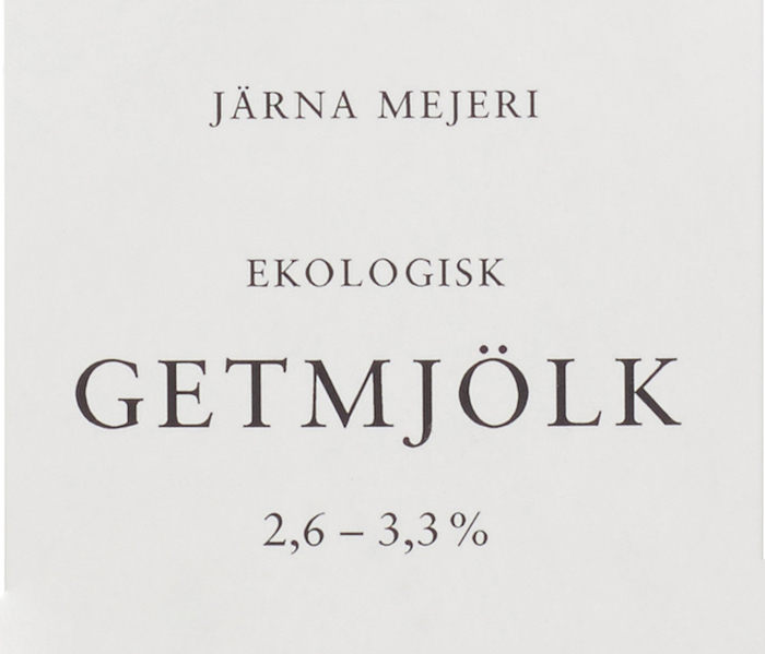 Järna Mejeri dairy products 1