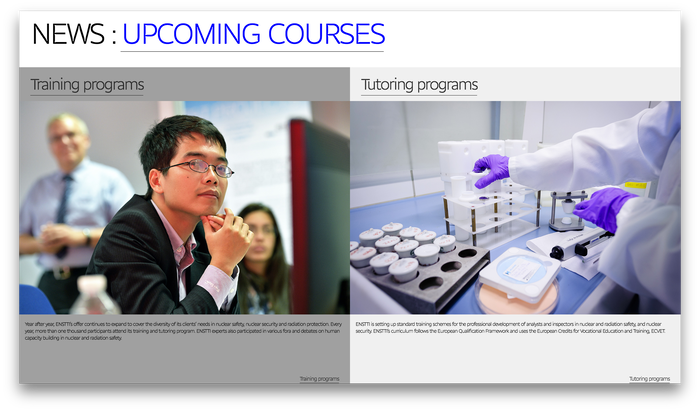 European Nuclear Safety Training & Tutoring Institute 4