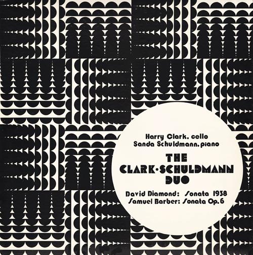 The Clark-Schuldmann Duo – David Diamond: Sonata 1938/Barber: Sonata Op.6