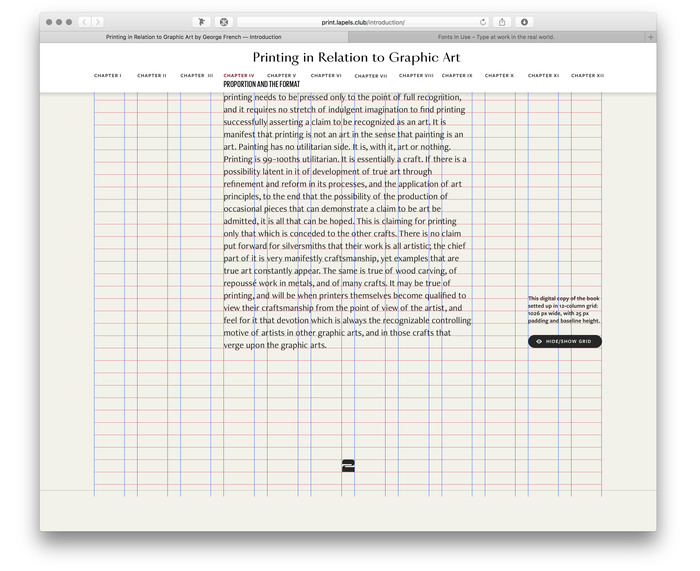 Printing in Relation to Graphic Art by George French, Pavel Kedich web edition 3