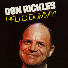Don Rickles – <cite>Hello Dummy</cite> album cover