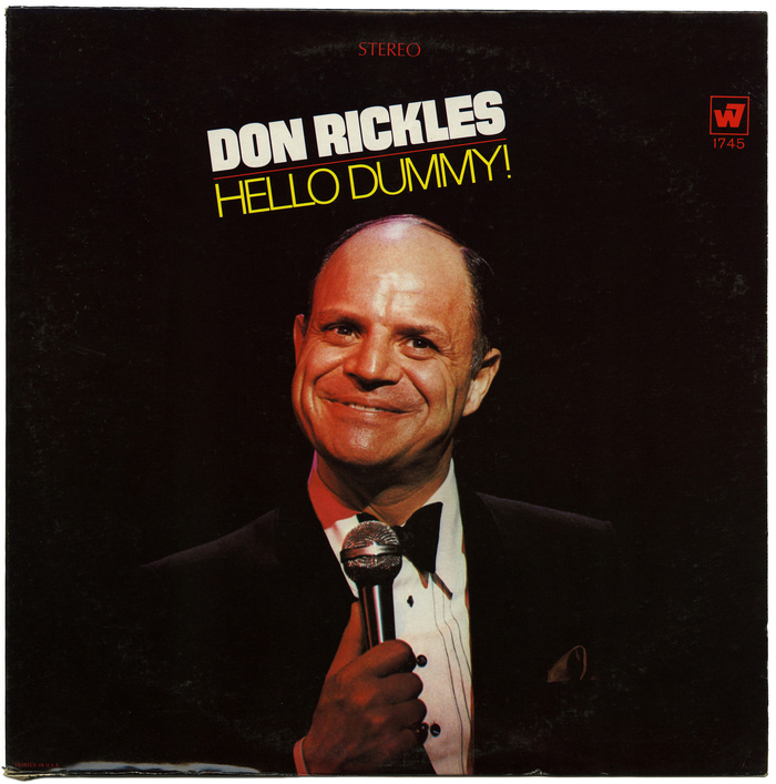 Don Rickles – Hello Dummy album cover