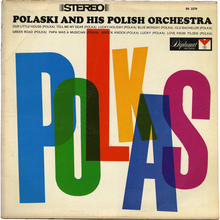 Polaski and his Polish Orchestra – <cite>Polkas</cite> album cover