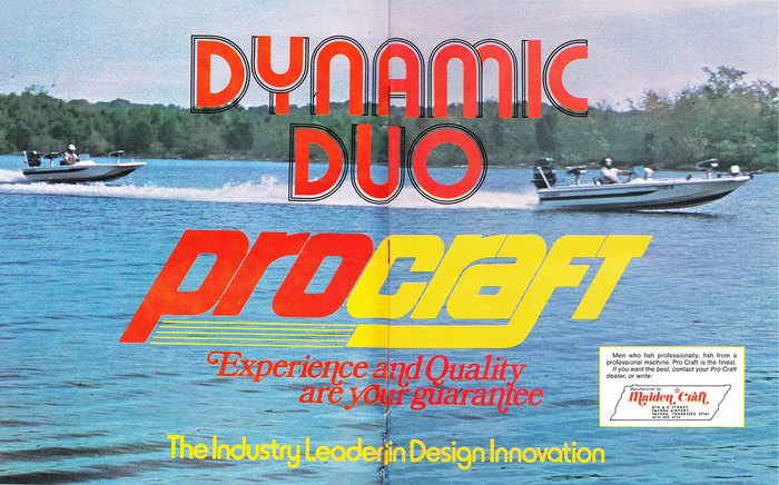 """Dynamic Duo"" Pro Craft ad (1977)"