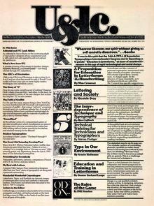 """<cite>U&amp;lc</cite>, Vol.<span class=""""nbsp"""">&nbsp;</span>1 #2, 1974"""