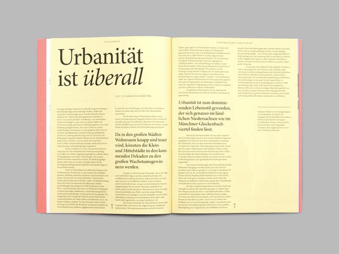 """Stadtaspekte, special issue """"Land in Sicht!"""" 4"""