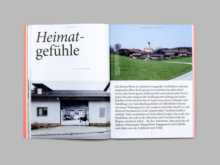 """Stadtaspekte, special issue """"Land in Sicht!"""" 8"""