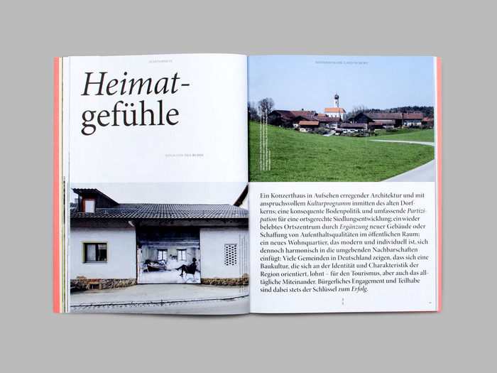 "Stadtaspekte, special issue ""Land in Sicht!"" 8"