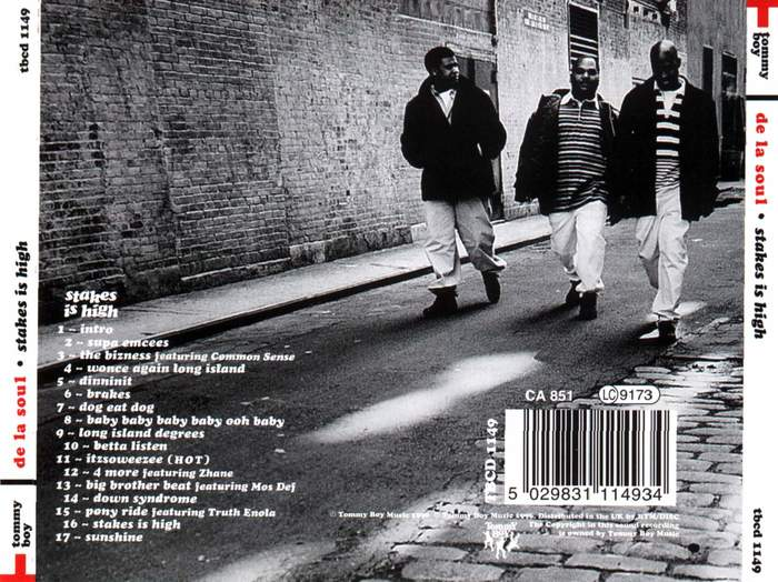 CD jewel case back cover