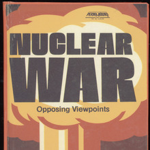 <cite>Nuclear War: Opposing Viewpoints</cite> book cover