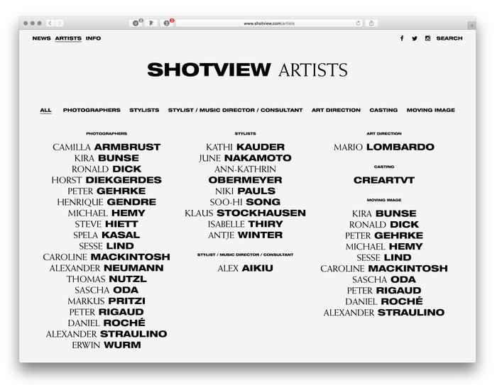Shotview website (2017) 4
