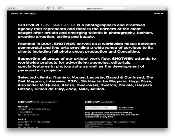 Shotview website (2017) 5