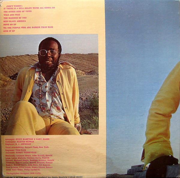 Curtis Mayfield – Curtis album art 2
