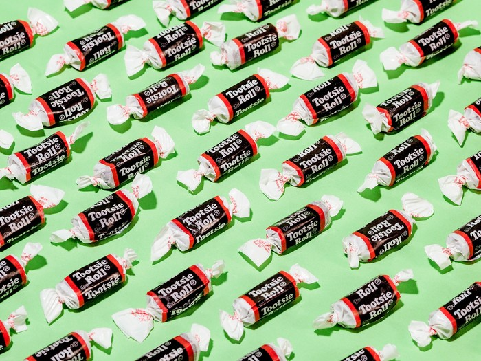Tootsie Roll candy branding 1
