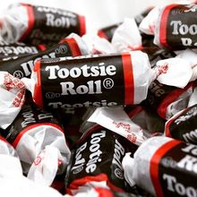 Tootsie Roll candy branding