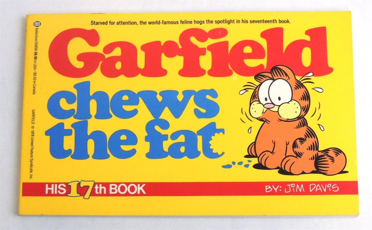 Garfield Comics Series Fonts In Use