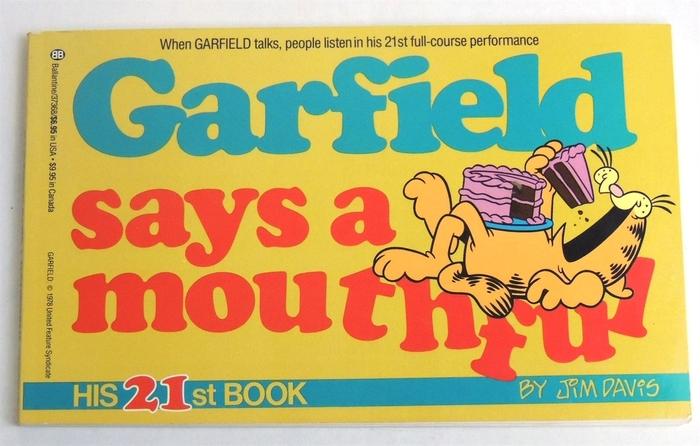 Garfield comics series 8