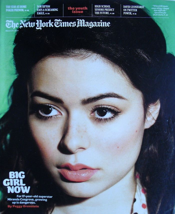 The New York Times Magazine, The Youth Issue 2011 1