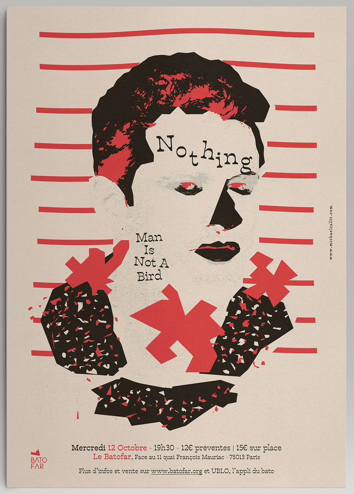 Nothing gig poster 2