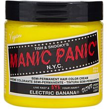 Manic Panic hair dye, cosmetics, etc.