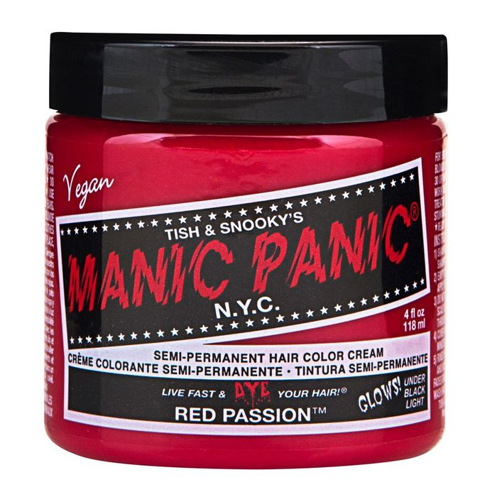Manic Panic hair dye, cosmetics, etc. 1