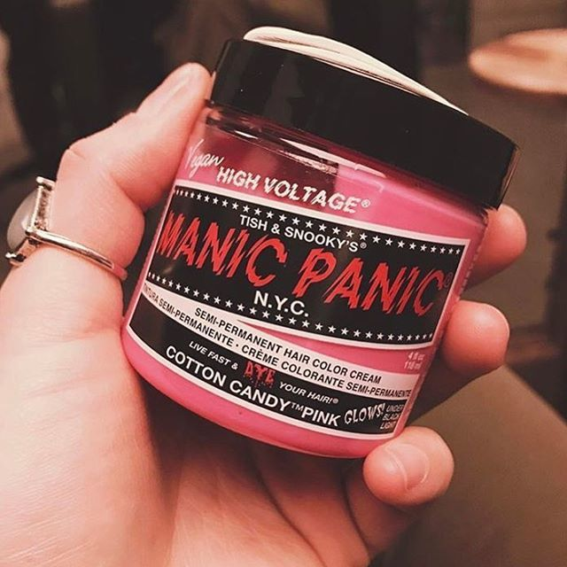 Manic Panic hair dye, cosmetics, etc. 5