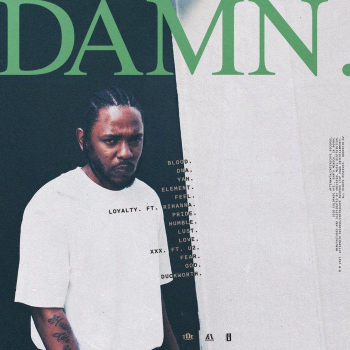 Kendrick Lamar – DAMN. album cover 2