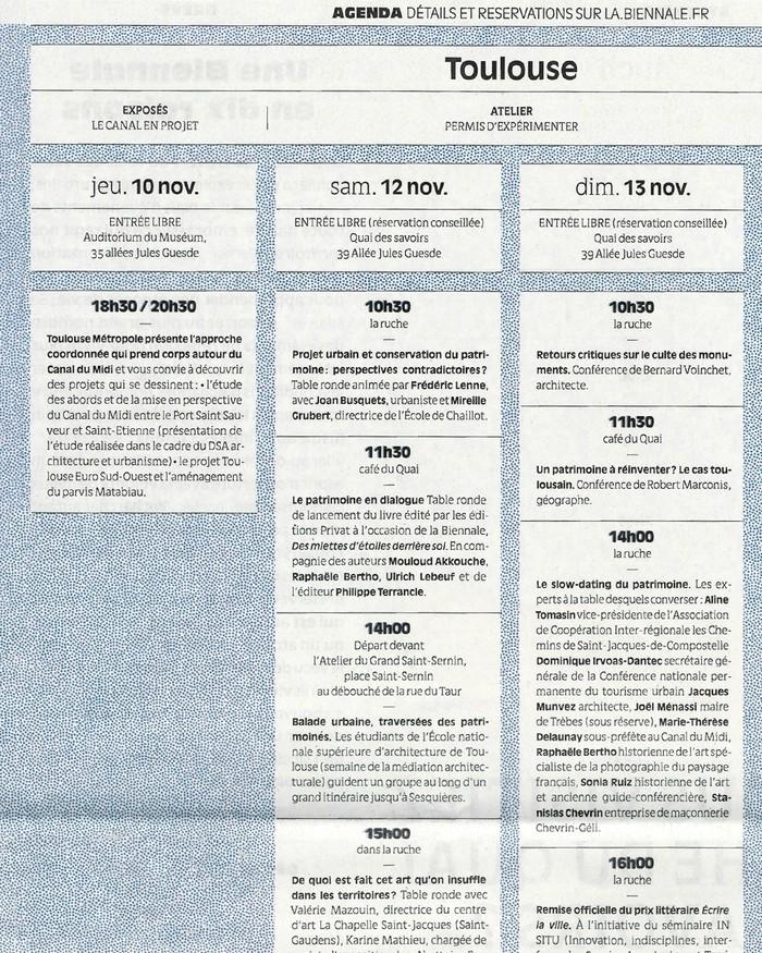 La Biennale Européenne du Patrimoine Urbain 17