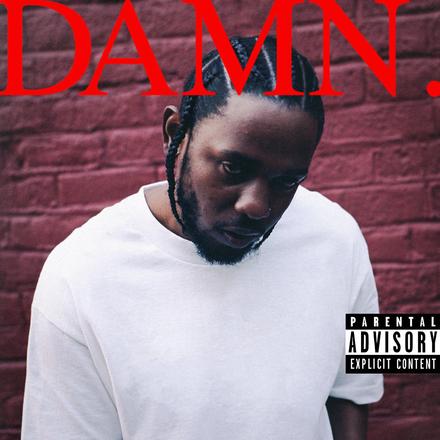Kendrick Lamar – <cite>DAMN.</cite> album cover