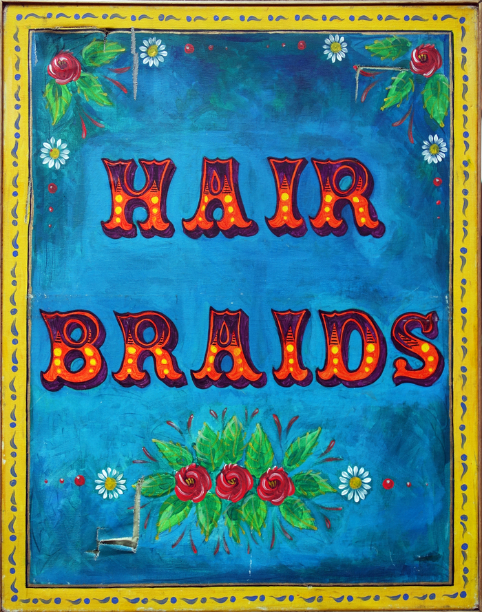 Glam Rocks – Hand Painted Pebbles / Hair Braids 2