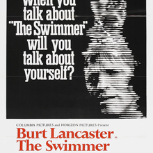<cite>The Swimmer</cite> movie poster (1968)