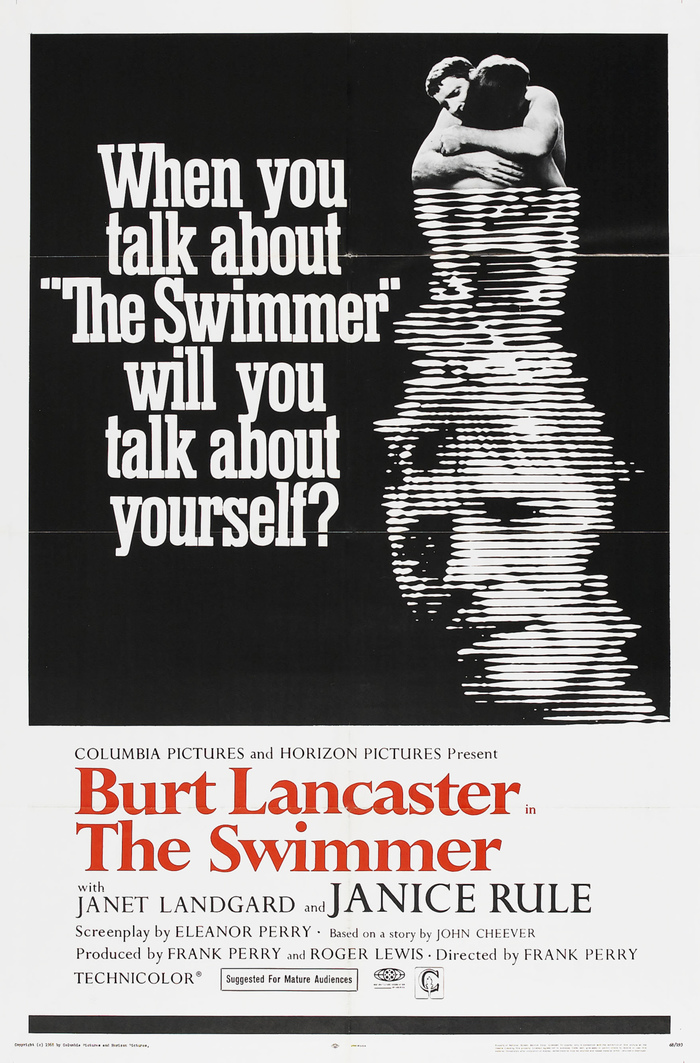 The Swimmer movie poster (1968)