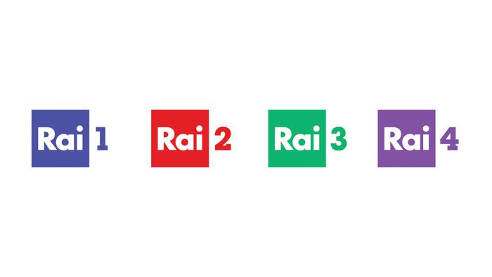 RAI Radiotelevisione italiana logos (2016/17 redesign) 1