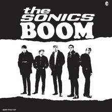 The Sonics – <cite>Boom </cite>album art