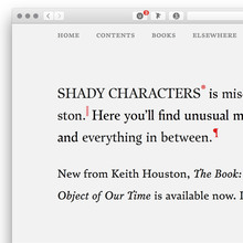 <cite>Shady Characters</cite> website