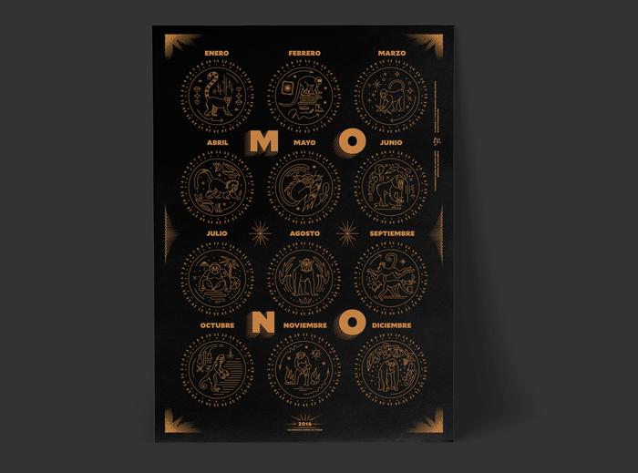 Mono de Fuego poster and booklet 5