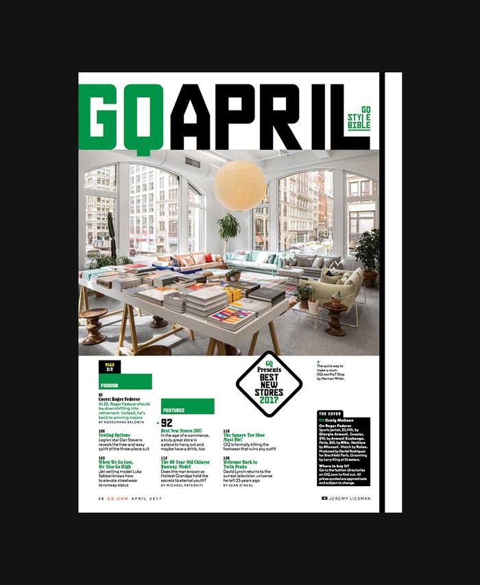 GQ magazine, April 2017 2