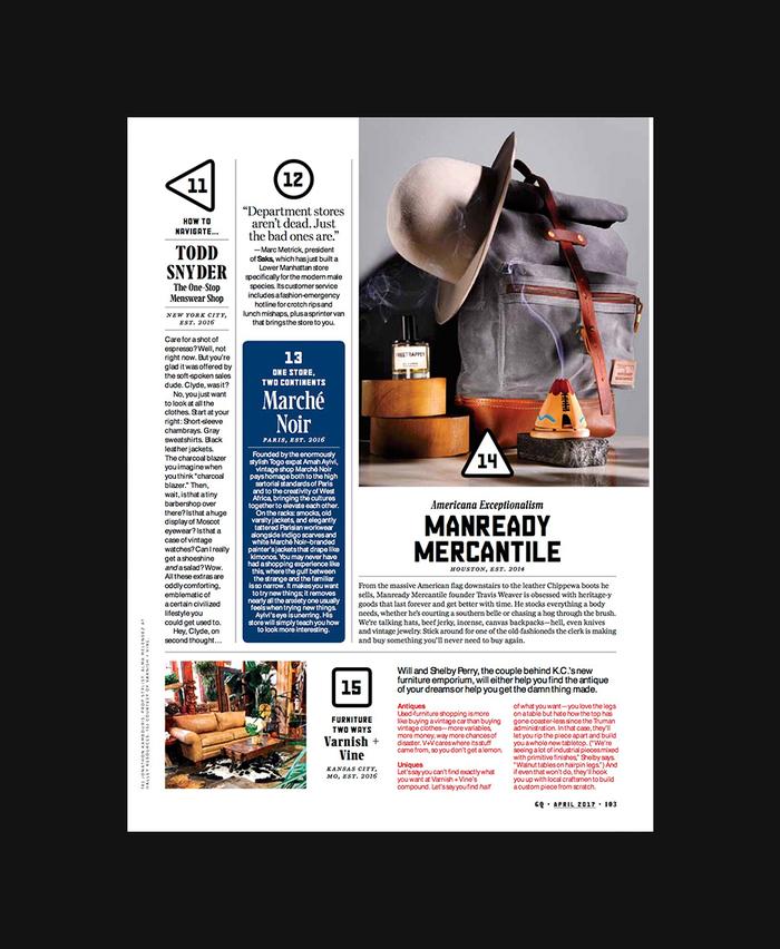 GQ magazine, April 2017 4