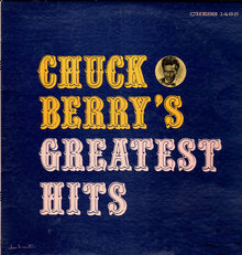 <cite>Chuck Berry's Greatest Hits</cite> album art