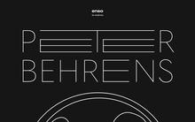 <cite>Enso </cite>magazine: Peter Behrens