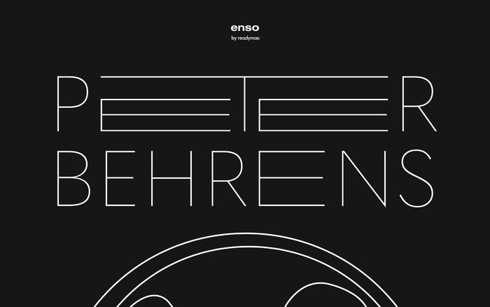 Enso magazine: Peter Behrens 1