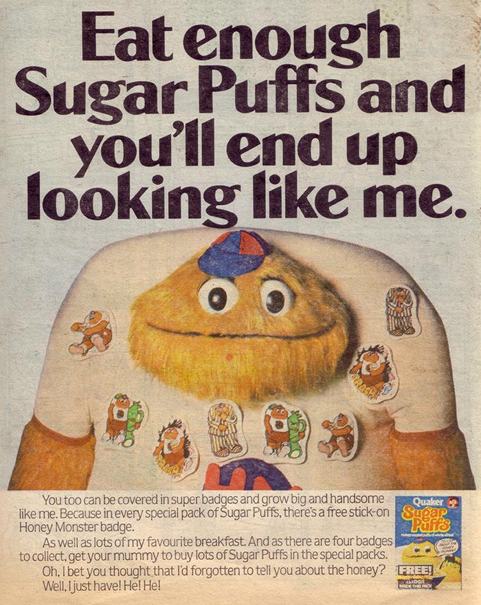 Sugar Puffs ad