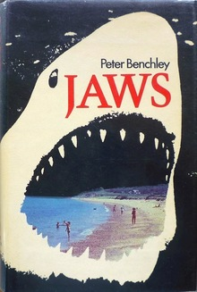 <cite>JAWS </cite>by Peter Benchley, Andre Deutsch edition