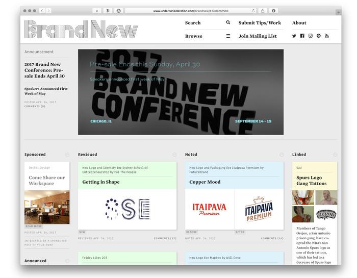 Brand New website (2017) 1